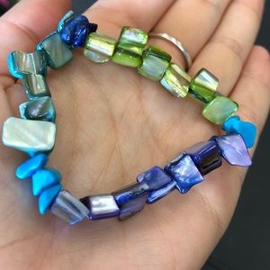 Multi-colored Rock Bracelet